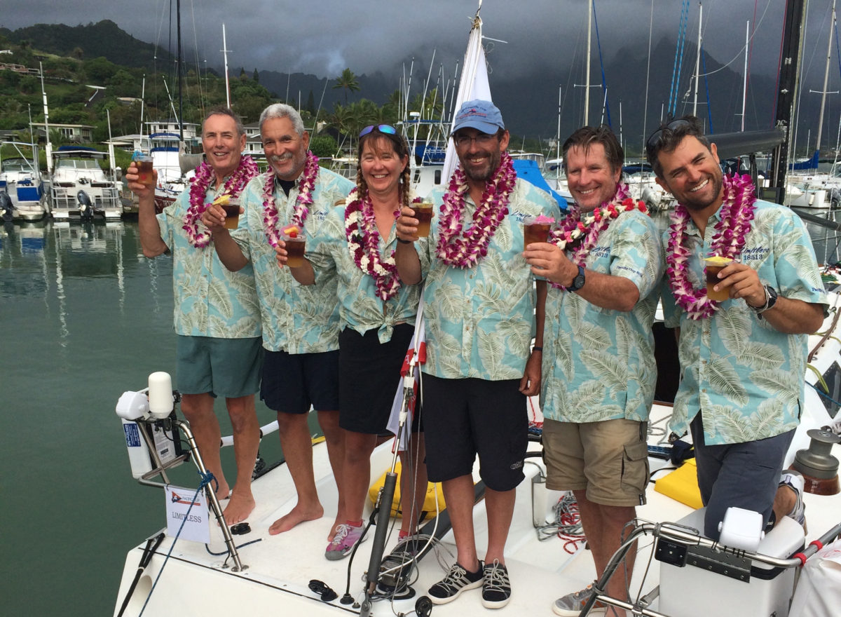 Limitless 2016 Pacific Cup finish!