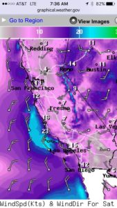 Wind conditions building over the next 5 days