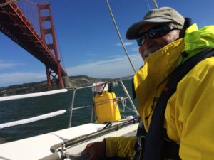 Passing under the Golden Gate Bridge on Limitless