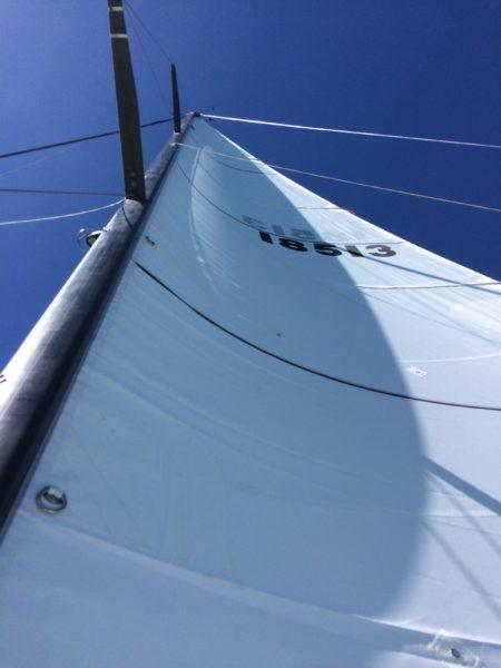 Test sail!